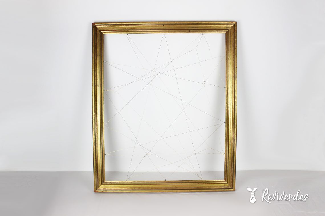 Hanging frame in front photo