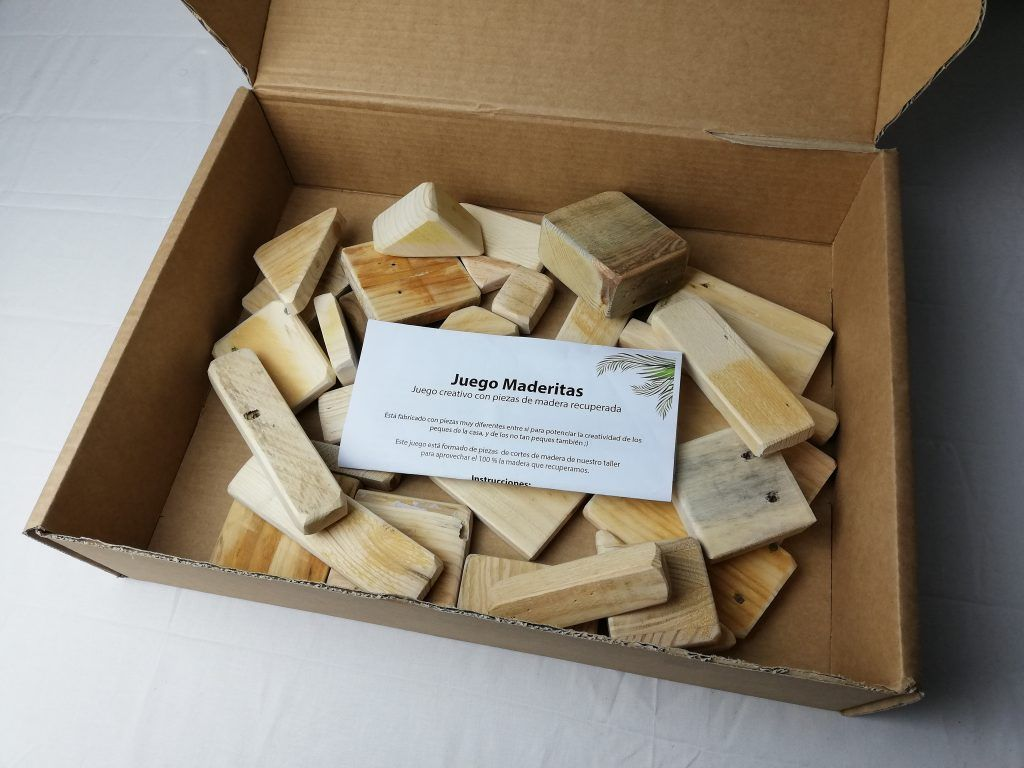 Wooden game instructions