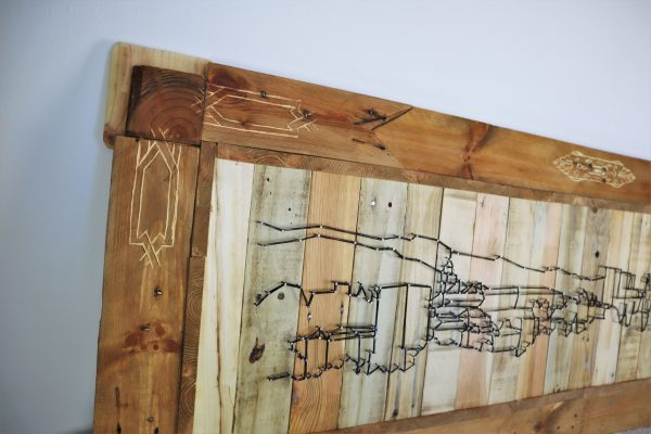 Alhambra in wood
